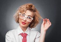 Expressive woman Stock Photo