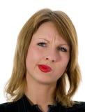 Expressive woman Royalty Free Stock Photos