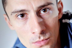 Expressive young man Royalty Free Stock Photography