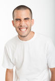 Expressive young man Royalty Free Stock Photo