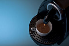 Expresso. An expresso is a popular drink highly valued in the mediterranean countries royalty free stock photo