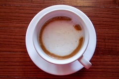 Expresso chaud Machiato de café Photographie stock libre de droits