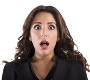 Expressão choc Imagens de Stock Royalty Free