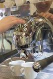 Expresso coffe making Coffe Stock Photo