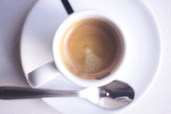 Expresso coffee cup Stock Photography