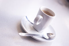 Expresso coffee cup stock photos