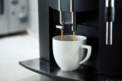 Expresso coffee machine Stock Image