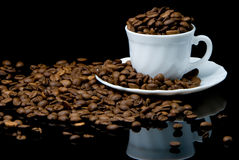 Expresso in a cup Royalty Free Stock Image