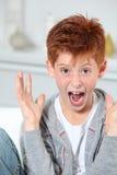 Expressão da criança Imagens de Stock Royalty Free