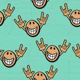 Expressão feliz Imagem de Stock