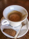 Expresso-Kaffee Stockfotografie