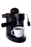 Expresso machine. With cup of coffee Stock Images