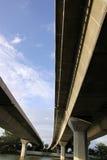 expressway royaltyfri bild