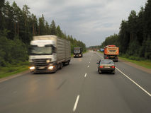 expressway Imagem de Stock Royalty Free