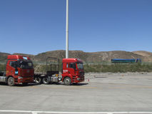 expressway Arkivbild