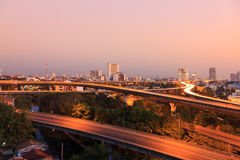 Expressway in bangkok Stock Photography