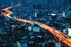 Expressway Bangkok-Thailand Royalty Free Stock Photo