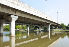 Expressway bridge Stock Images