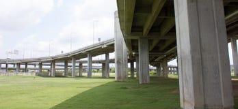 Expressway bridge daylight Royalty Free Stock Images