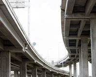 Expressway bridge daylight Stock Image