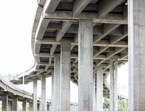 Expressway bridge daylight Royalty Free Stock Photo