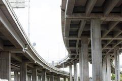 Expressway bridge daylight Royalty Free Stock Image