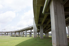 Expressway bridge daylight Stock Images