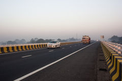 Expressway, India. Royalty Free Stock Photo