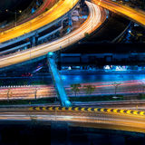 Expressway infrastructure for transportation royalty free stock image