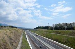Expressway in Japan Stock Image