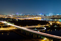Expressway in Seoul Stock Photos