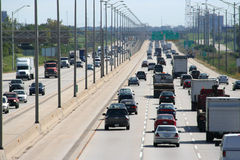 Expressway Traffic 1 Royalty Free Stock Images