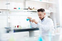 Expérience chimique Image stock