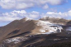 Exprima a música de amor em Kangding na montanha de Zheduo Imagens de Stock