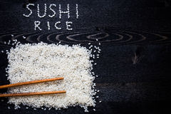 Exprime le riz de sushi photos stock
