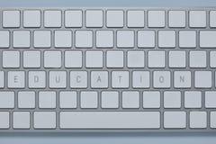 Exprimez l'éducation sur le clavier d'ordinateur avec d'autres verrouille supprimé photo stock