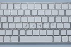 Exprimez l'argent sur le clavier d'ordinateur avec d'autres verrouille supprimé photos libres de droits