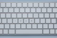 Exprimez l'idée n que le clavier d'ordinateur avec d'autres verrouille supprimé photographie stock libre de droits