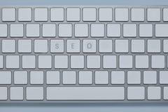 Exprimez le seo sur le clavier d'ordinateur avec d'autres verrouille supprimé photo libre de droits