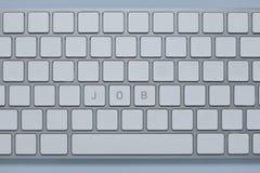 Exprimez le travail sur le clavier d'ordinateur avec d'autres verrouille supprimé photo libre de droits