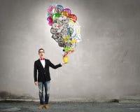 Exprimez votre individualité créative photos stock