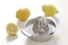 Exprimidor del limón fotografía de archivo