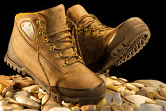 Exptreme protection boots Royalty Free Stock Photo