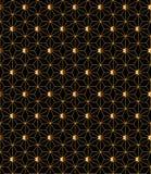 Exquisite art deco seamless vector pattern Stock Photo