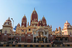 The Exquisite Birla Mandir In Red Sandstone. In New Delhi royalty free stock images
