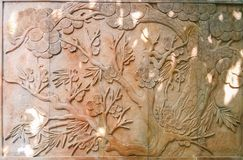 Exquisite carving of stone carving. 