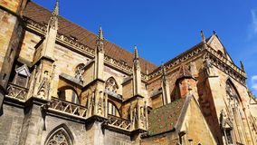 An exquisite cathedral in Germany stock photography