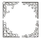 Exquisite Corner Ornamental Designs. A vector set of exquisite corner ornamental designs Stock Photos