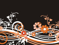 Exquisite floral background Stock Photo