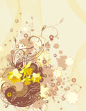 Exquisite floral background Stock Image